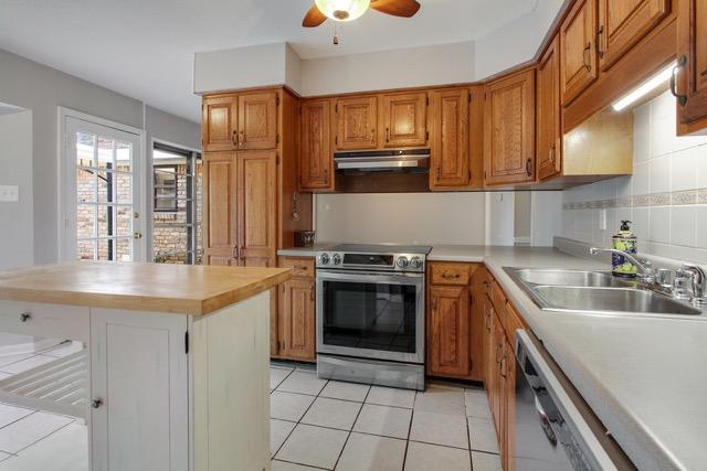 Kitchen View towards Den