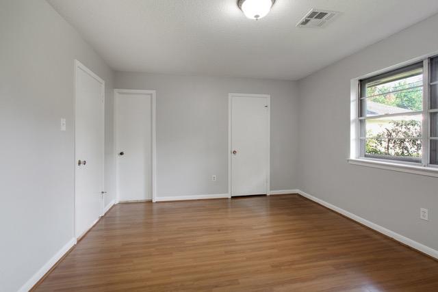 Master Bedroom Doors to Closet Bathroom and Hall