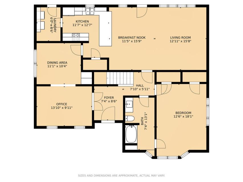 24 - First Fl Floor Plan